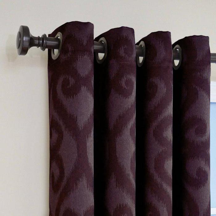 металлические потолочные карнизы для штор