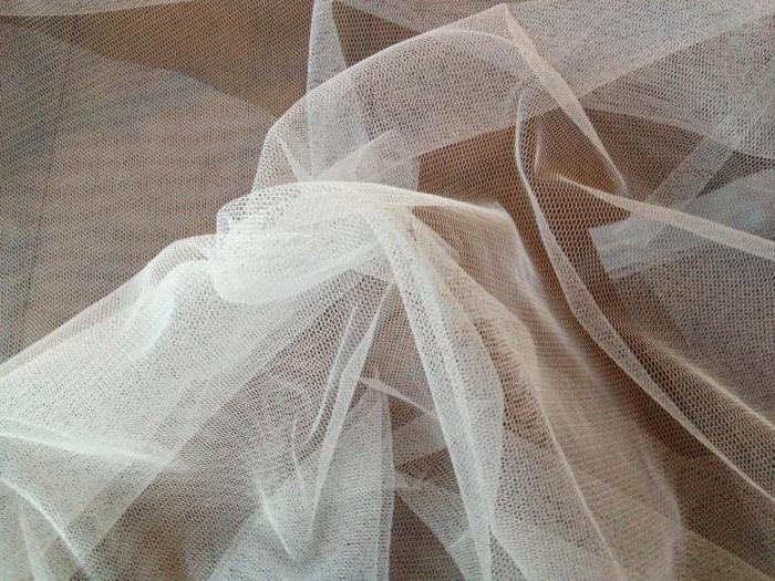 плотная прозрачная ткань