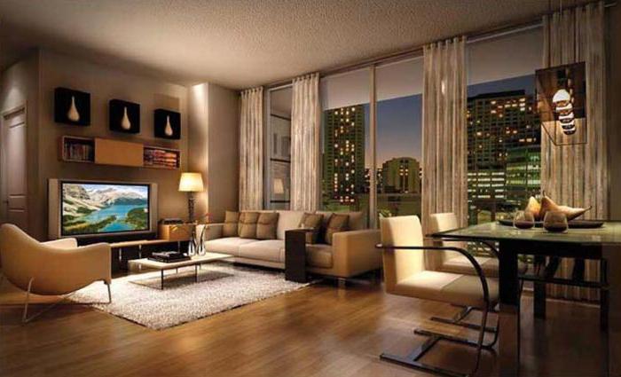 дизайн интерьера современных квартир студий