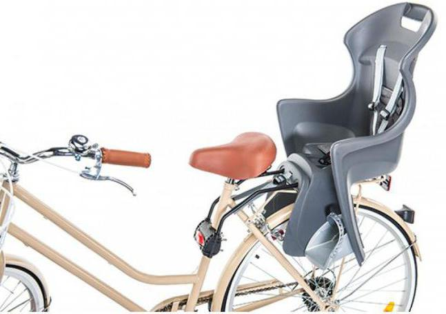 детское велосипедное кресло отзывы