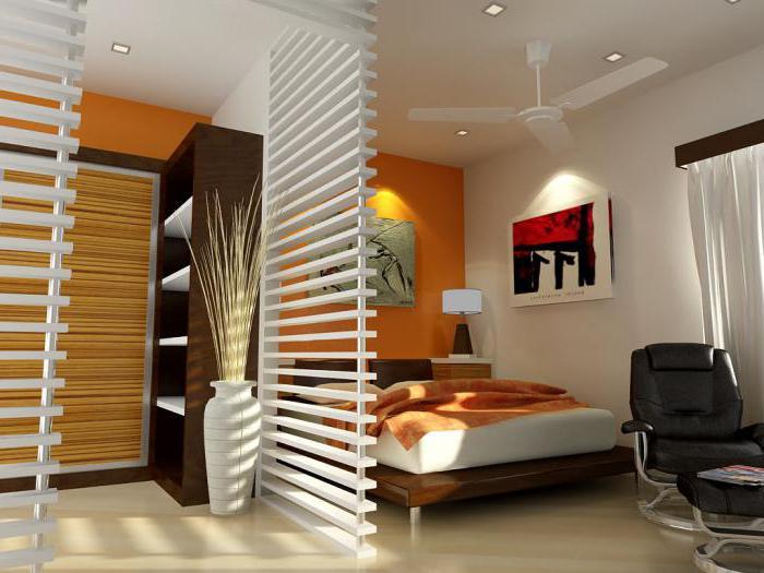 планировка гостиной спальни