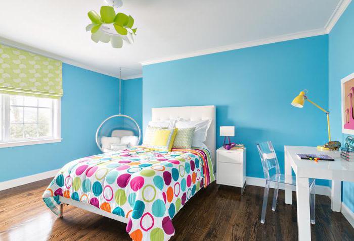 планировка детской спальни