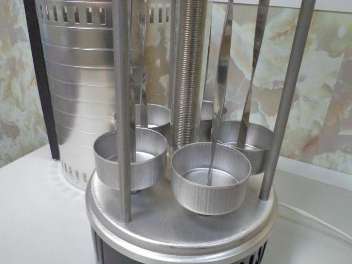 шашлычница электрическая вертикальная отзывы
