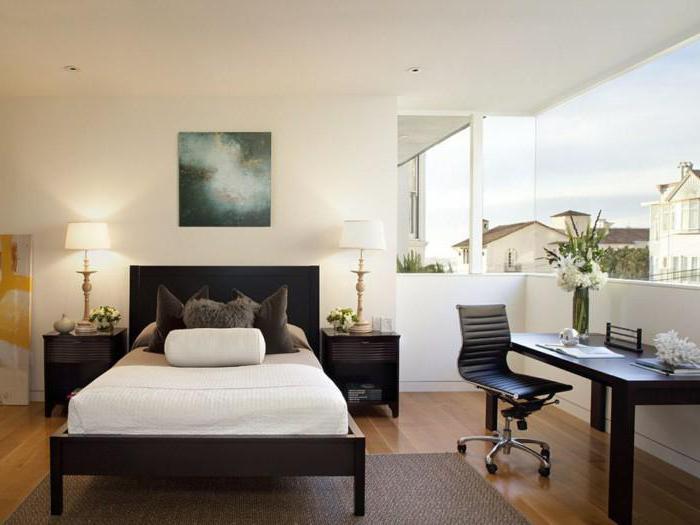 прямоугольная спальня как расставить мебель