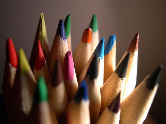 как делают цветные карандаши