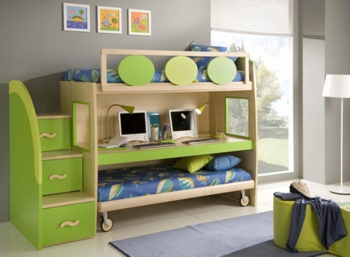 кровать-чердак детская фото