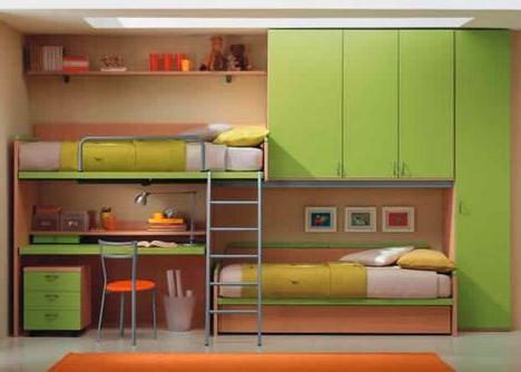 чердак-кровать с рабочей зоной