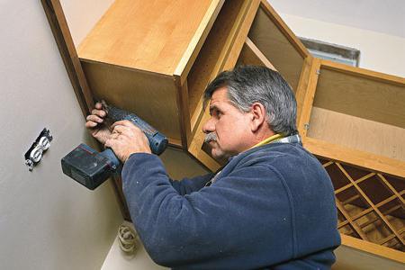 угловой кухонный шкаф своими руками