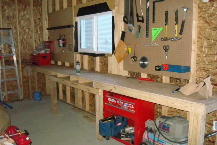 самодельное оборудование для гаража