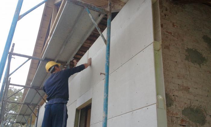 технология утепления фасадов пенопластом монтаж с нуля