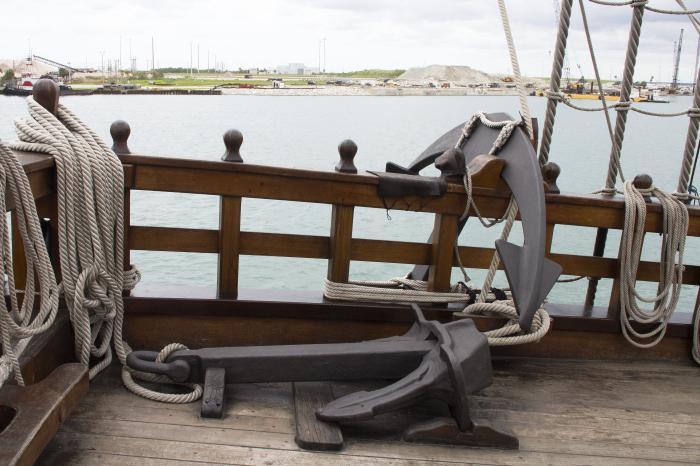 якорное устройство судна