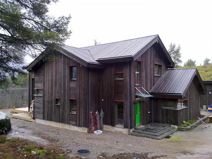 норвежские дома из бруса