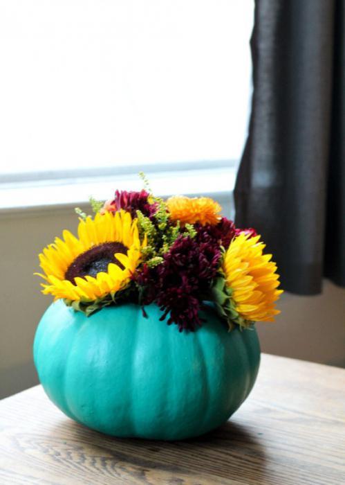 Поделки ваза с цветами из овощей 100