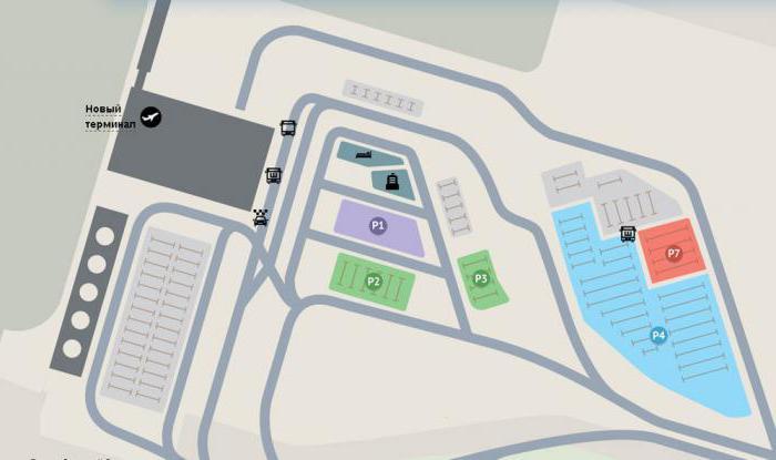 схема пулково 1 новый терминал