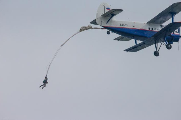 Вам известно, сколько строп у парашюта десантника?