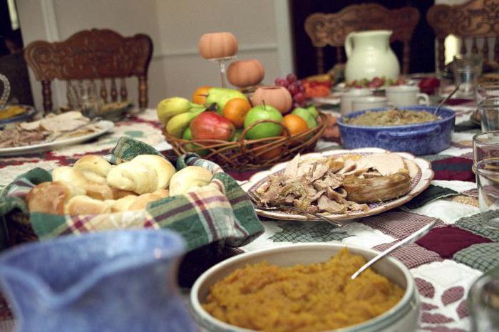 праздничный обед фото