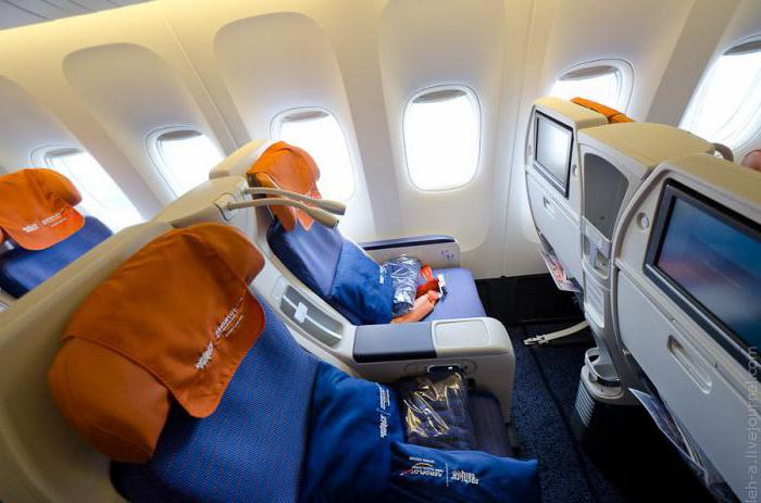 салон боинг 777 300 аэрофлот