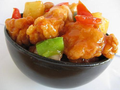 рыба в кисло сладком соусе по китайски