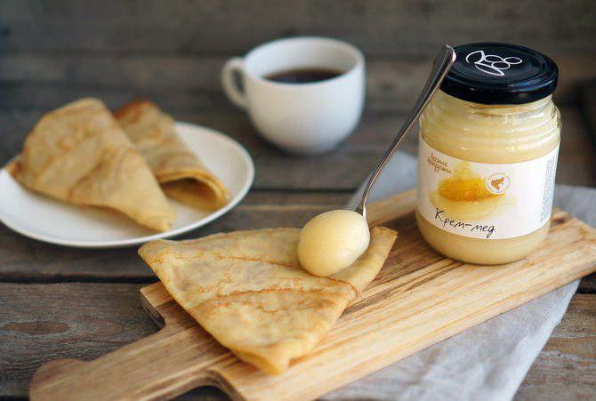 как приготовить крем мед