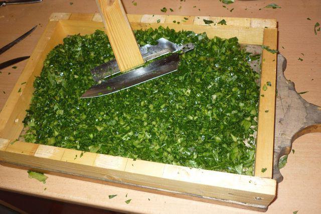 крошево из зеленых листьев капусты на зиму рецепт