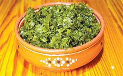 рецепт листьев капусты на зеленые щи на зиму