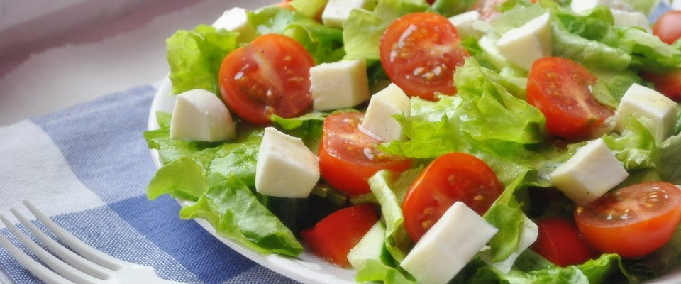 Tasty and healthy salads