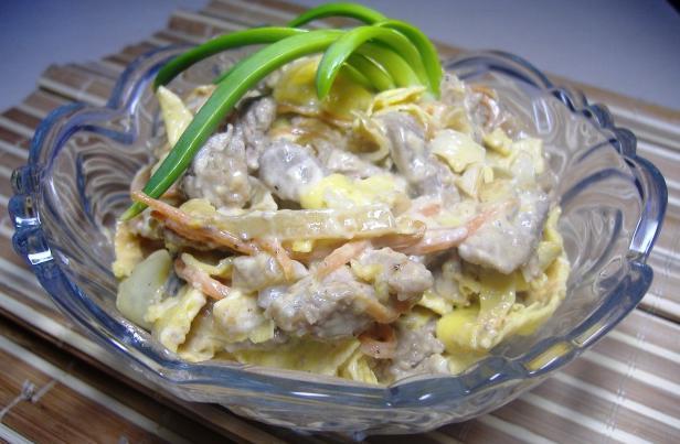"Tasty salad ""Mao Zedong"""