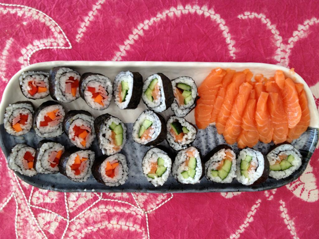 Суши в домашних условиях - Пошаговый рецепт с фото   Блюда ...