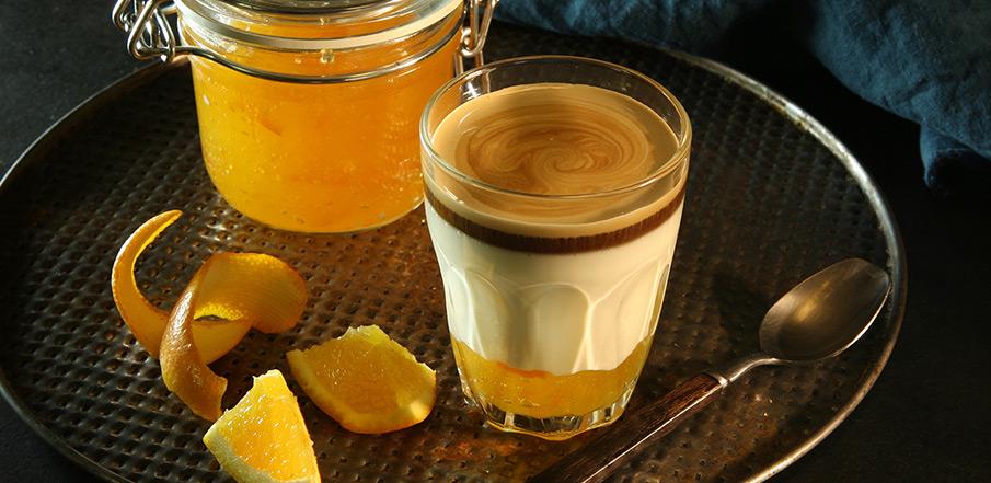 How to make coffee with an orange?