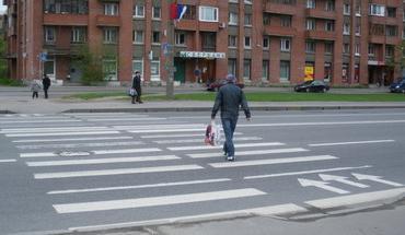 разметка пешеходный переход