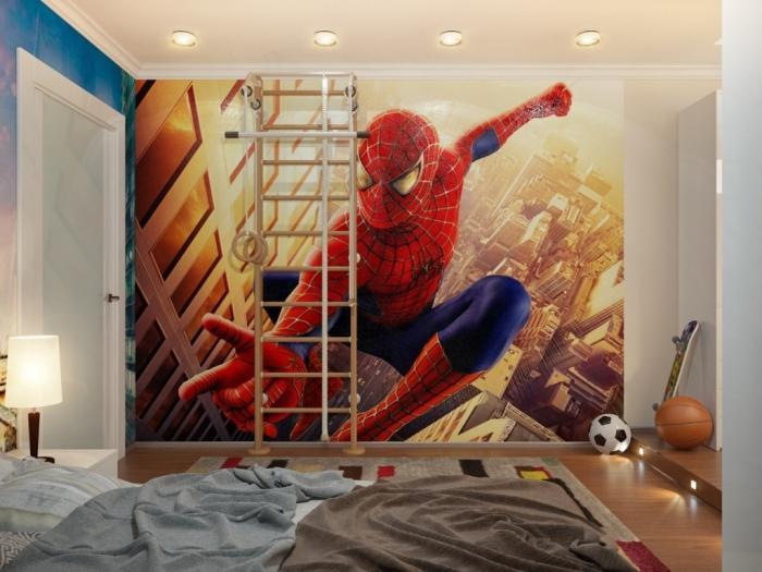 Дизайн комнаты с пауками
