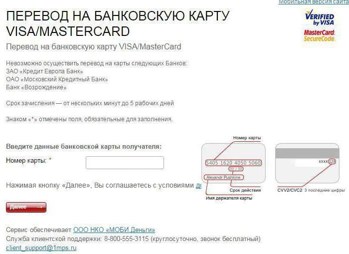 Как перевести деньги с МТС на карту Сбербанка и других банков?