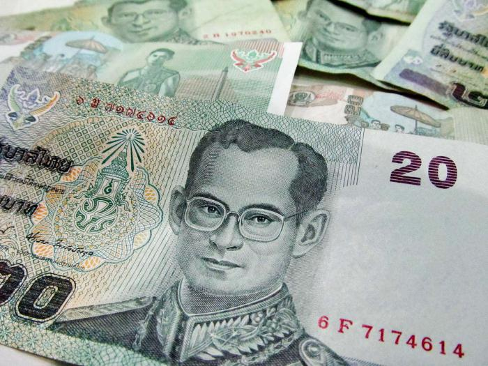 Какая валюта ходит в тайланде