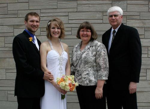 Искренние слова благодарности родителям на свадьбе
