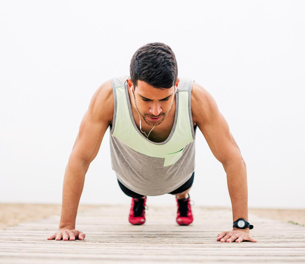 conventional push ups