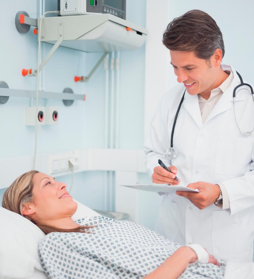 больной после операции