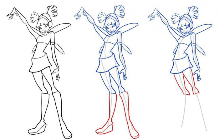 - Comment dessiner les winx facilement ...