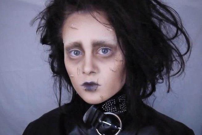 лицо на хэллоуин фото
