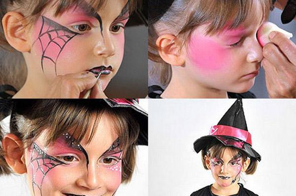 маски на лицо для хэллоуина