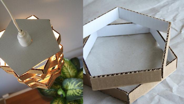 движущиеся поделки из картона