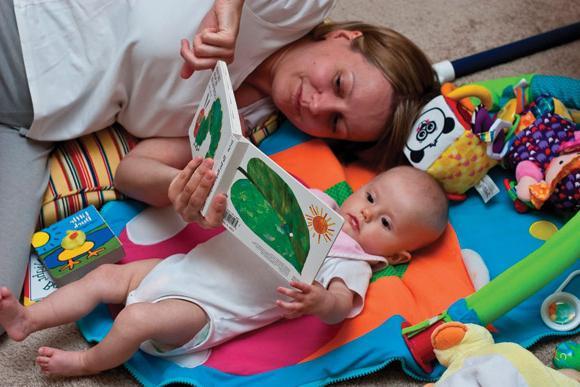 Что должен делать малыш к 4 месяцами 165