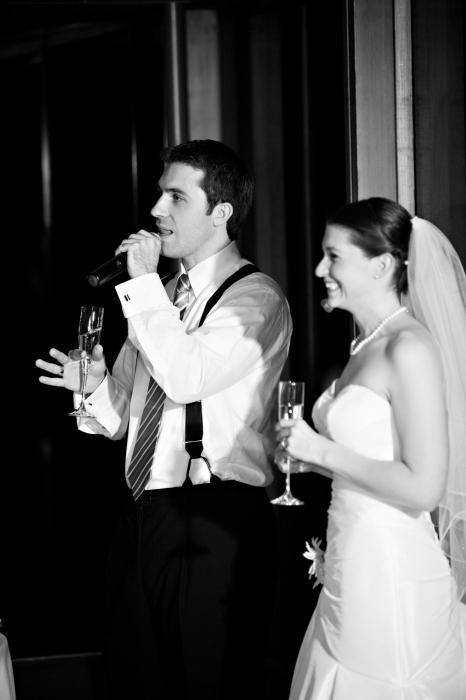 Слова благодарности гостям на свадьбе