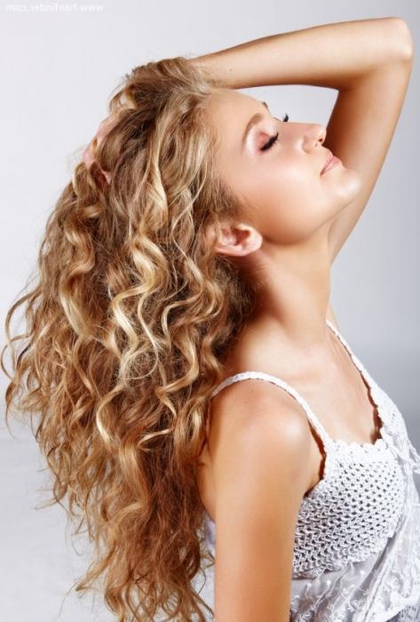 Как сделать кудри на длинные волосы, чтобы они продержались весь день.
