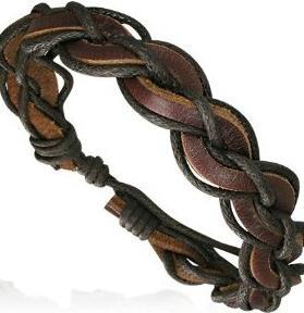Сделать своими руками мужской кожаный браслет