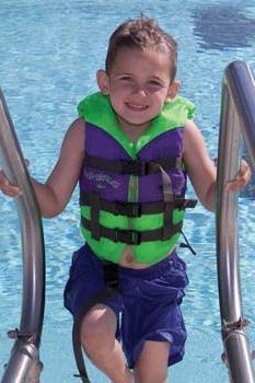 Детский спасательный жилет спасёт жизнь вашему ребёнку!