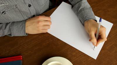 Как написать свою автобиографию пример