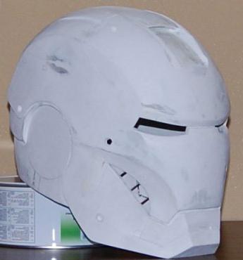 как сделать маску железного человека из картона