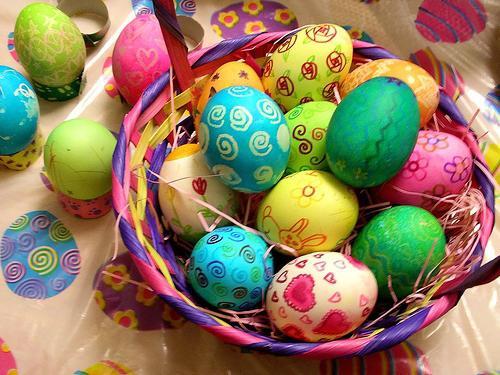 Куриные яйца к пасхе своими руками