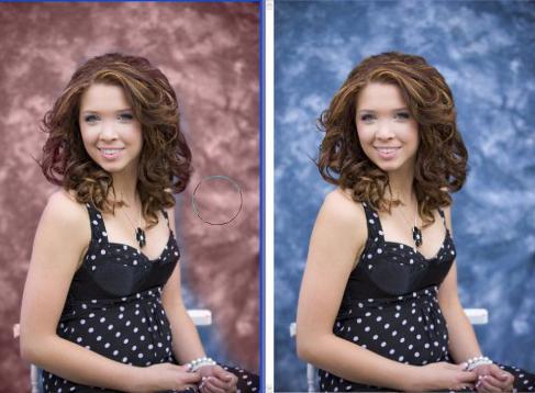 Как заменить фон в фотошопе