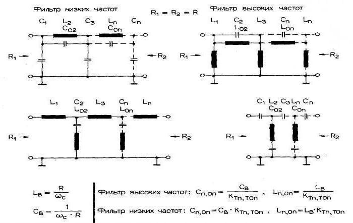усилители мощности звука схемы